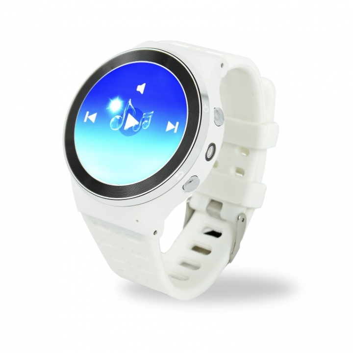 ZGPAX 3G Android Smart Watch Phone With Camera Pedometer Heart Reate Monitor GPS WIFI white 3
