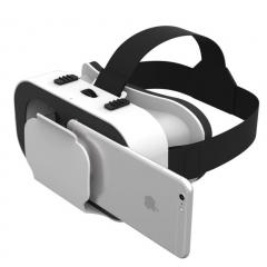 VR SHINECON 5.0 VR Glasses Virtual Reality VR Box 3D Glasses For 4.7-6.0 Phone White 28 4.7-6.0