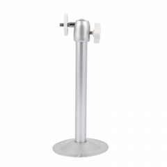 Universal  Alloy 360 Degree Rotation  Projector Ceiling Wall Mount Metal Bracket Holder Stand white 20cm