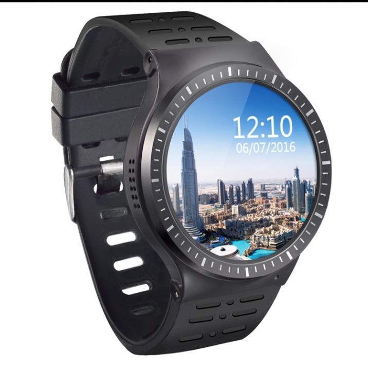 ZGPAX S99B GSM 3G WCDMA Android 5.1 Smart Watch Phone GPS WiFi 2.0MP HD Camera Pedometer Heart Rate black 3