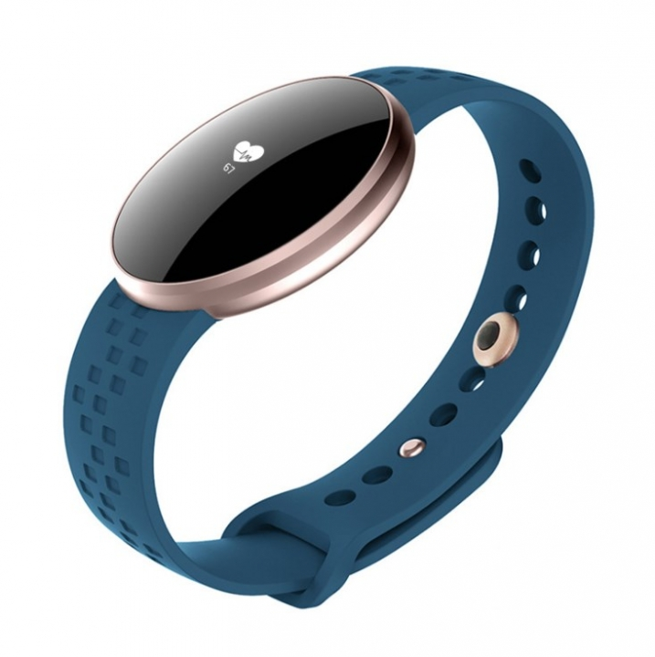 SKMEI Women Fashion Sport Smart Watch For iPhone/Android With Fitness Sleep Monitoring Waterproof blue 23