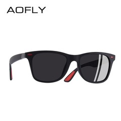 Fashion DESIGN Classic Polarized Sunglasses Men Women Driving Square Frame Sun Glasses Male UV400 C1 25