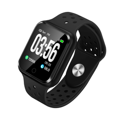 Waterproof Bluetooth Smart Watch Heart Rate Monitor Pedometer Call Reminder For iphone/Android Phone blue 3
