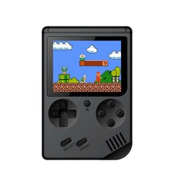 Retro Mini 32 Bit Handheld Game Player  Built-in  Classic Games Pocket Game Console Best Gift black