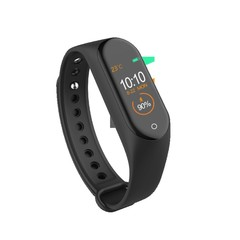 M4 Smart Watches Waterproof Heart Rate Monitor Bluetooth Sport Smart Bands Bracelets Pedometer M4 Black one size