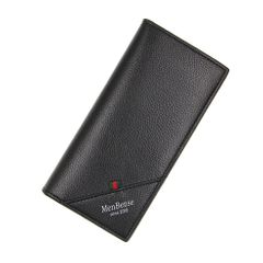Men Wallets Classic Long Style Card Holder Male Purse Quality Large Capacity  Luxury Wallet Gifts Black 12cm*9cm*2.5cm