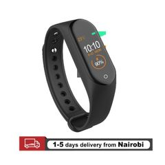 M4 Smart Watches Bluetooth Sport Smart Bands Bracelets Pedometer For All Phones Smartwatches M4 Black one size