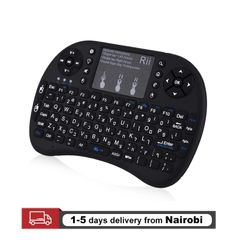 USB Wireless Keyboard Touchpad Air Mouse Play Game Remote Control For Smart TV Android TV BOX Black 15