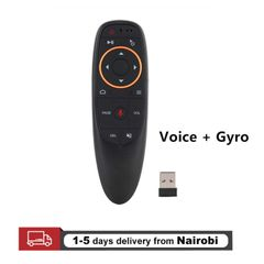 Air Mouse Wireless Voice Remote Control 2.4G USB TV Receivers Gyroscope Sensing Play Game Android TV