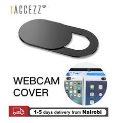 Smart Phone Camera Cover WebCam Cover Shutter Magnet Slider Antispy For Laptop PC Pad black 2pack