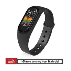 M5 Smart Watches Music Playback Support Bluetooth Phone Calling For All Phones Sport Smart Bracelets black one size