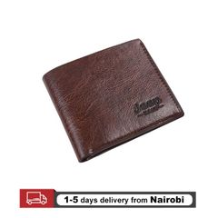 Jeep Men Wallets Pu Leather Wallets Classic Short Multi-card Purse Card Holders Gifts Deep Brown 10*11.5*0.5