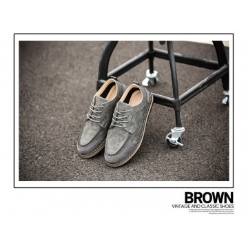 British retro men's shoes 2003 grey 44