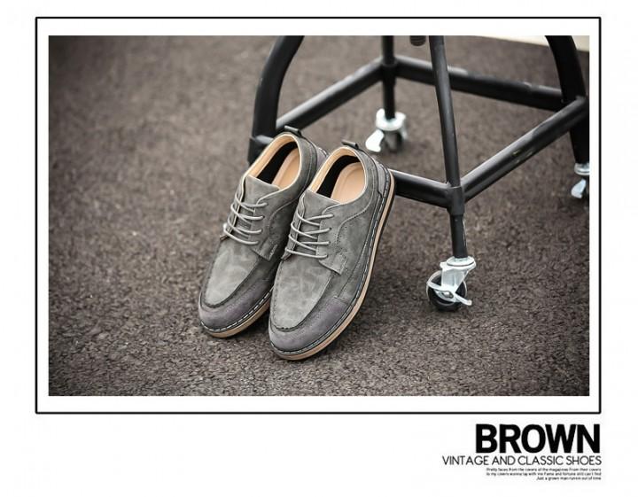 British retro men's shoes 2003 grey 42