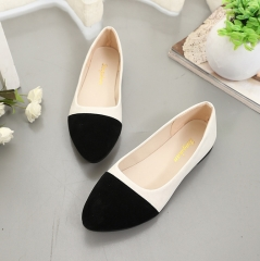 New sweet fight flat with flat shoes 168 black 39
