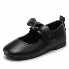Children's shoes anti-skid soft little girl shoes L-8006 black 30