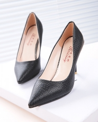 High Heels Pumps Classic Office Shoes Sexy l Pointed Toe Women's High Heels Pumps Women Shoes896 black 34