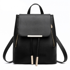 School Bags For Teenagers Girls Top-handle Backpacks Black One size