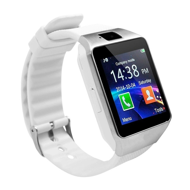 Bluetooth Smart Watch DZ09 Android Smartwatch Phone SIM For Android Tecno Samsung Valentines Gift white one size