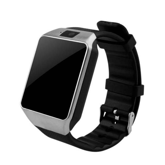 Bluetooth Smart Watch DZ09 Android Smartwatch Phone SIM For Android Tecno Samsung Valentines Gift silver one size