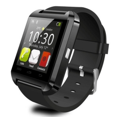 U8 Smart Watch Bluetooth WristWatch Sports Digital Watches For Android Samsung Apple Wearable Device black one size