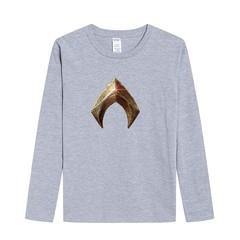 Justice League Aquaman Print Brand Clothing Hip Hop Men T-Shirt Long Sleeve Tops