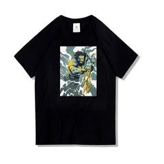 Fashion DC Justice Superhero Aquaman T-shirt Mens Women Short Sleeve Cotton Tops