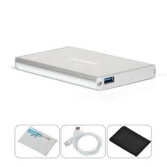 FREEGENE Ultra Slim USB 3.0 to 2.5-Inch SATA External Aluminum Hard Drive Enclosure