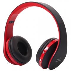 Bluetooth Wireless Headset Stereo Headphone Foldable Earphone With Mic Universal