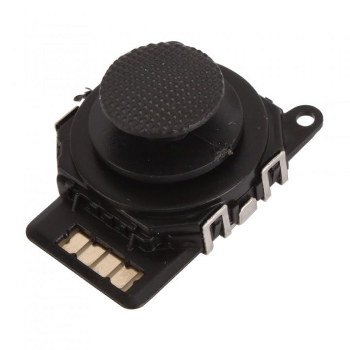 3D Black Button Analog Joystick Stick for Sony PSP 2000 2001 Slim black