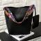 Women Lady PU Leather Shoulder Handbag Tote Purse Messenger Satchel Hobo Bag black one size