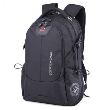 "SwissGear 17"" Laptop Notebook Bag Men Travel Outdoor Backpack School Rucksack black one size"