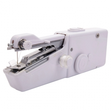 Singer Portable Stitch Sew Hand Held Quick Sewing Machine Handy Cordless Repair white