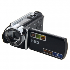 HD 1080P Digital Video Camcorder Full 16x digital Zoom DV Camera Kit black one size