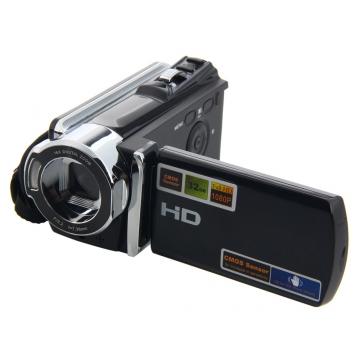 HD 1080P Digital Video Camcorder Full 16x digital Zoom DV Camera Kit black one size