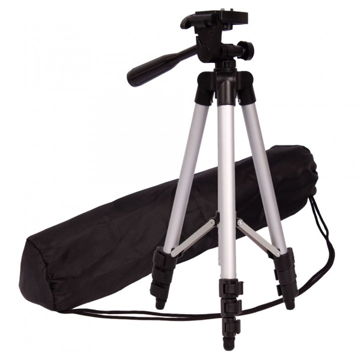 Flexible WT-3110A Portable Camera Tripod for Sony Canon black one size