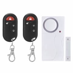 Magnetic Contacts Door Window Entry Alarm System with Remote Control Quality white one size