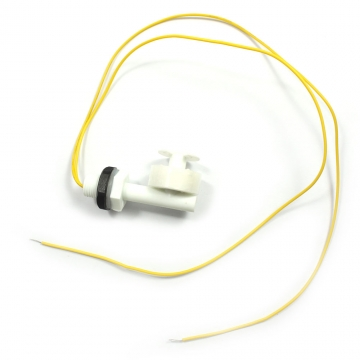 No Mercury Liquid Water Level Sensor Right Angle Float Switch Tank Fish Pool white one size no