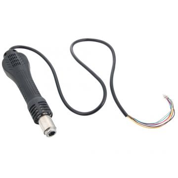 Heat Gun Hot Air Desoldering Gun Handle FOR 858 858D 898D 852D Soldering Station black