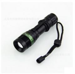 Long-range zoom flashlight LED flashlight Bright charging normal one size