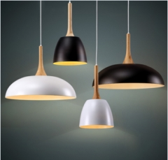 Modern Pendant Lighting Vintage Dinning Hanging Lamp white one size