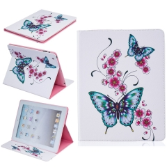 Apple iPad Mini 4 Case, PU Leather Flip Stand Case with [Card Slots Money Holder] (pattern 3) for Apple iPad Mini 4