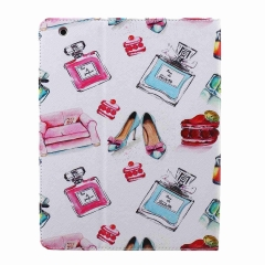 iPad 2/3/4Case,PU Leather Flip Stand with Card Slots Money Holder (pattern 1) for Apple iPad 2/3/4