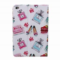 iPad Mini 4 Case,PU Leather Flip Stand with Card Slots Money Holder (pattern 1) for apple ipad mini 4