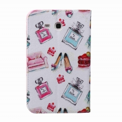 Galaxy Tab E lite T110 / T111 (7.0 Inch) Case,PU Leather Flip Stand with Card Slots Money Holder (pattern 1) for t110 / t111