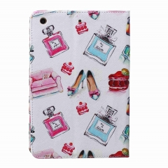 iPad Mini 1 2 3 Case,PU Leather Flip Stand with Card Slots Money Holder (pattern 1) for Apple ipad mini 1 2 3