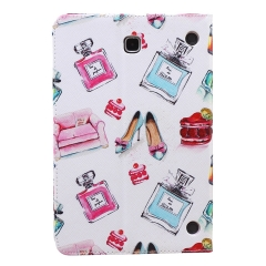 Galaxy Tab A 8.0 SM-T350 Case,PU Leather Flip Stand with Card Slots Money Holder (pattern 1) for Galaxy Tab A 8.0 SM-T350