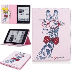 Kindle Voyage Case,PU Leather Flip Stand with Card Slots Money Holder (pattern 1) for Amazon Kindle Voyage 6 inch