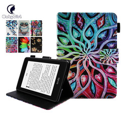 All-New Kindle Paperwhite Leather Cover (10th Generation-2018) Amazon Tablet Case (design 1) for All-New Kindle Paperwhite 1/2/3/4