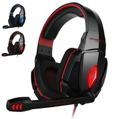 G4000 Gaming Stereo Headset Headphone Earphones - Red